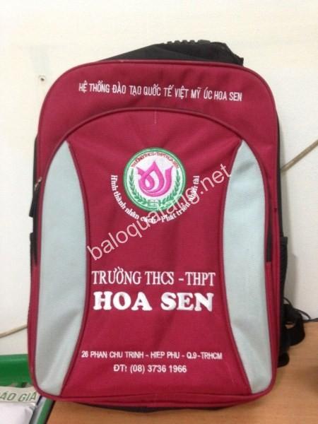 Ba lô học sinh THCS THPT Hoa Sen