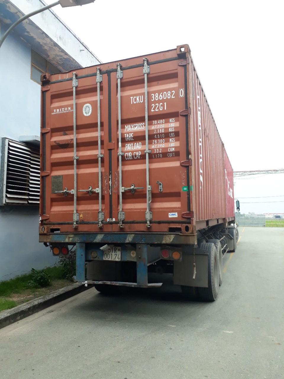 Xưởng xuất hàng đi Malaysia