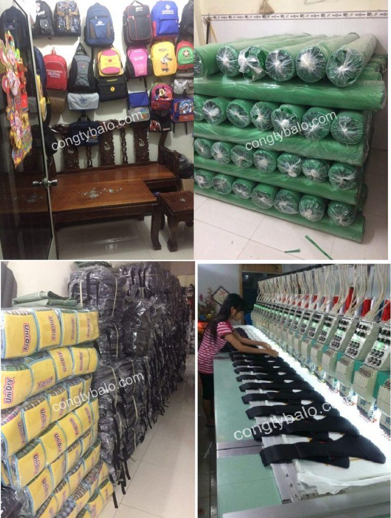 Xưởng may balo giá rẻ