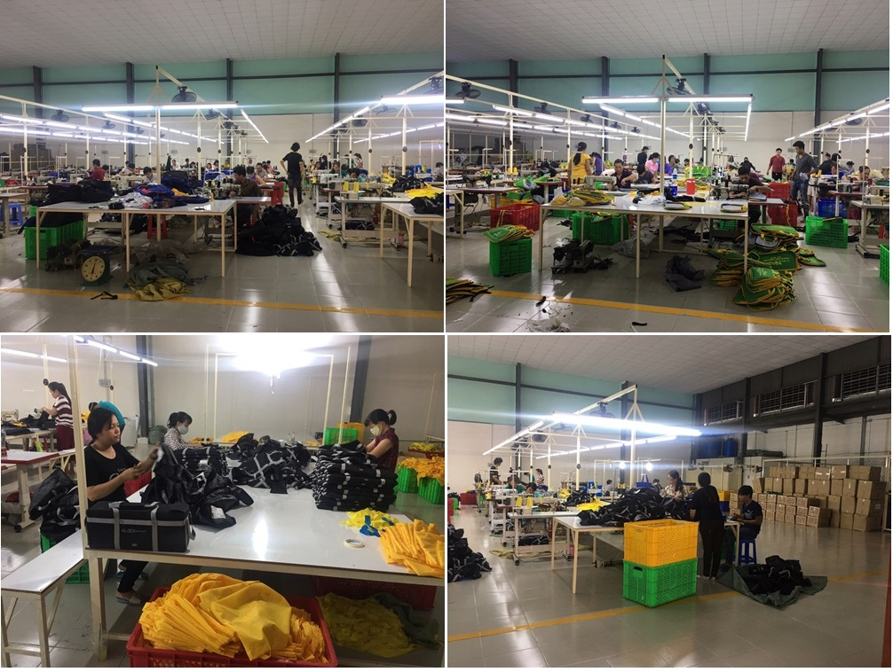 công ty sản xuất ba lô túi xách trực tiếp.