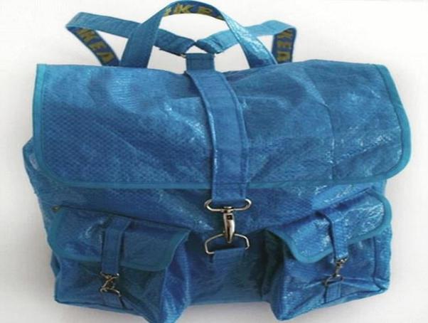 Balo túi xách nhựa 20k tiện lợi bắt nguồn cảm hứng từ Ikea