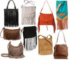 Những mẫu balo túi xách tua rua giúp bạn định hình phong cách
