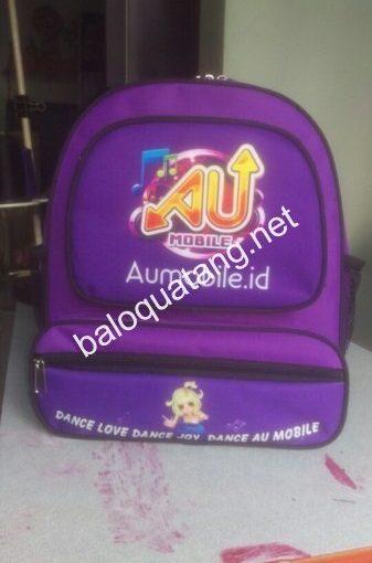 Balo quà tặng Aumobile.id sản phẩm chất lượng cho học sinh