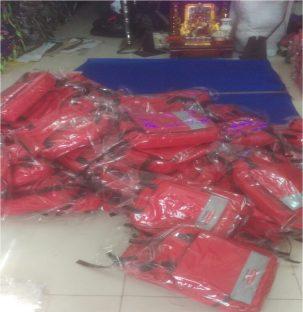 Bảo Hiểm Daiichi Đặt 10.000 May Balo làm quà tặng