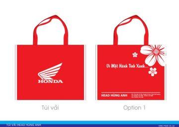 Túi vải không dệt Honda
