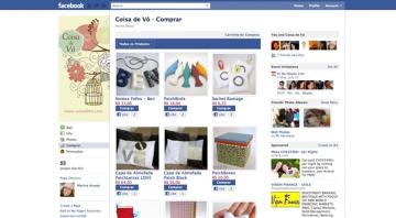 Trang bán hàng qua mạng với kênh xã hội Facebook