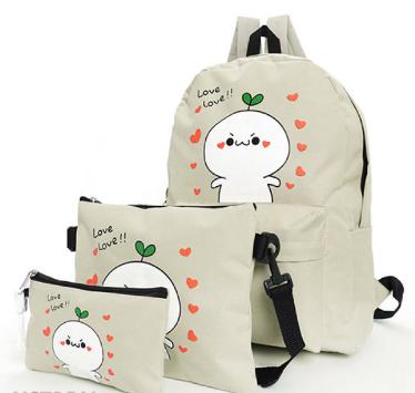 Túi xách họa tiết hoạt hình trẻ trung, hiện đại