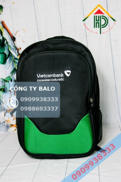 Balo quà tặng nhân viên Vietcombank