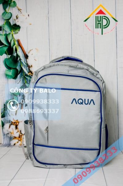 Balo quà tặng quảng cáo AQUA