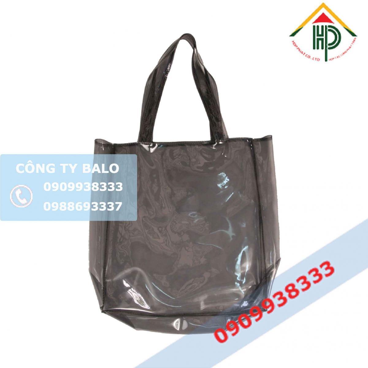 Túi nhựa PVC đen trong suốt
