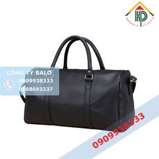 Túi xách du lịch simili đen