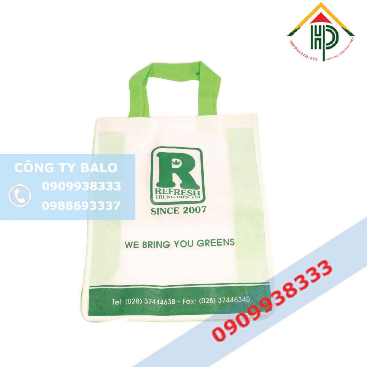 Túi vải không dệt Refresh