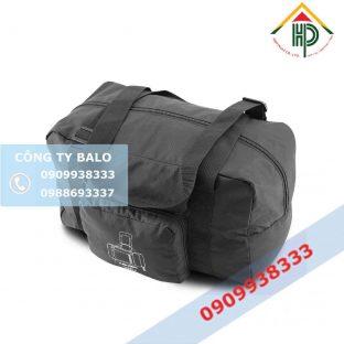 Túi xách du lịch vải dù đen