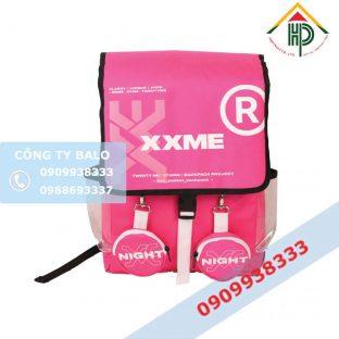 Balo thời trang XXME màu hồng