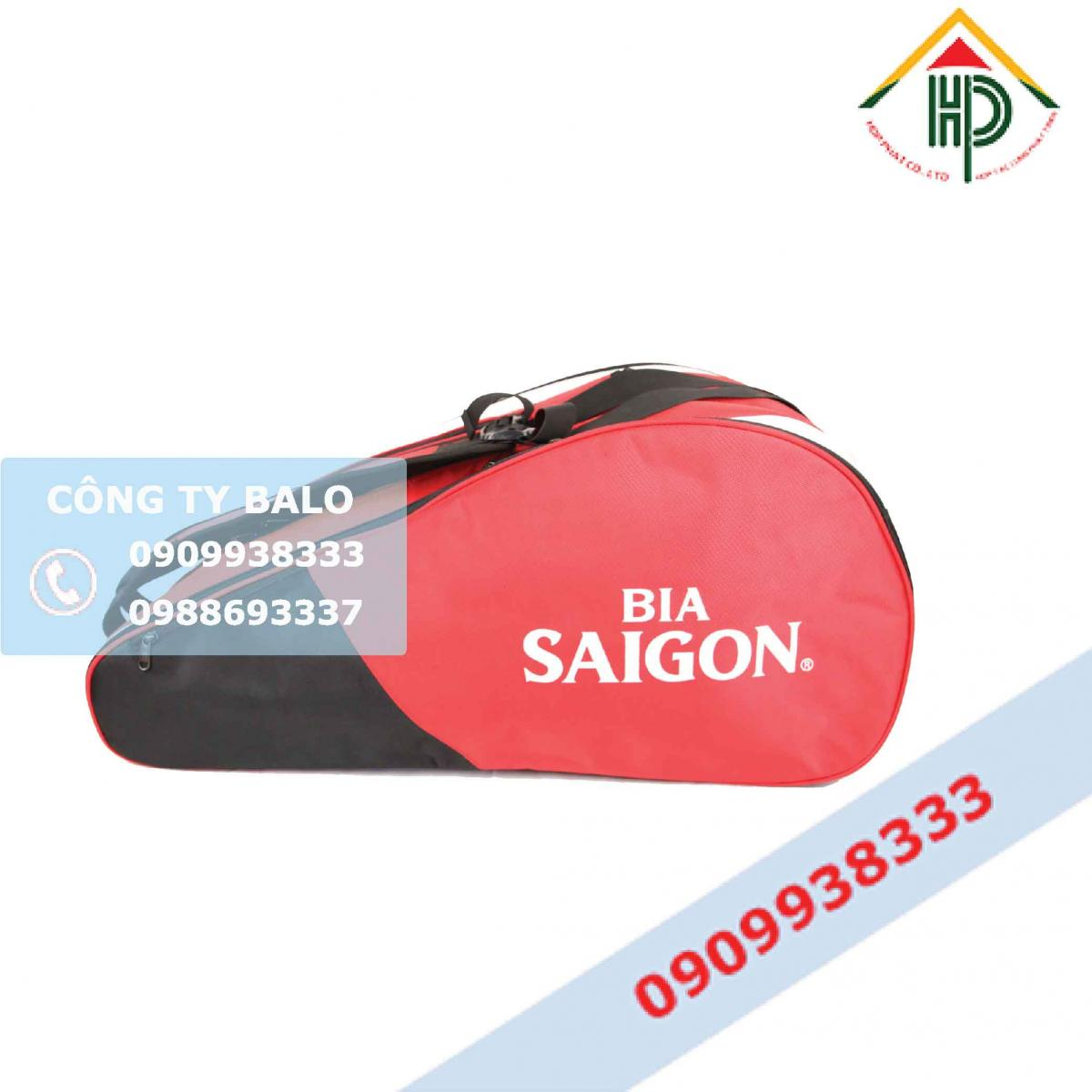 Túi đựng vợt Tennis Bia Sài Gòn