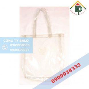 Túi xách nhựa trong suốt SPO