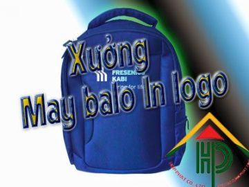 Xưởng May Balo In Logo Theo Yêu Cầu Tại TPHCM