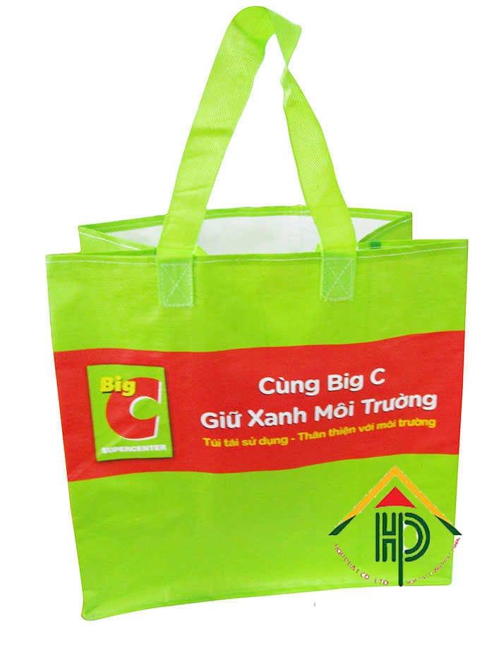 Túi vải không dệt dùng trong siêu thị