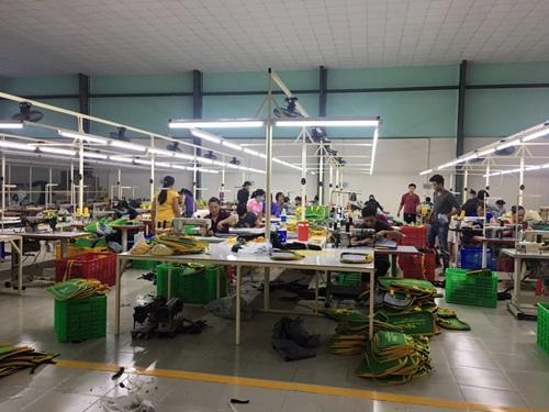 Xưởng may túi xách Hợp Phát