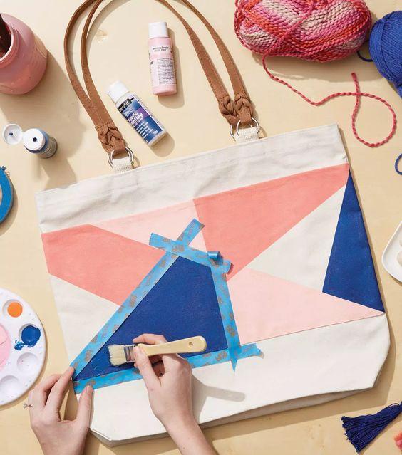 In hình túi vải canvas